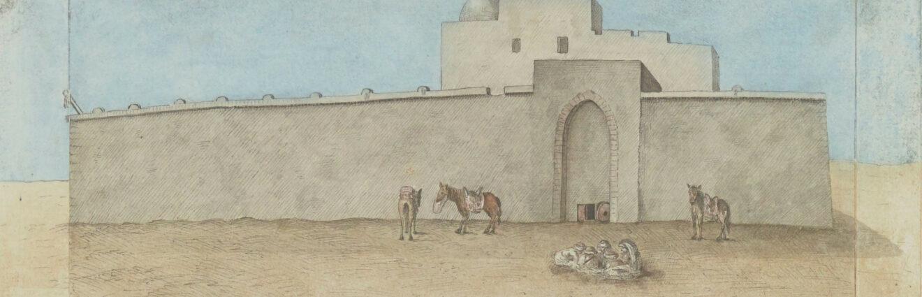 Henri Joseph Redouté et la redécouverte des ruines antiques