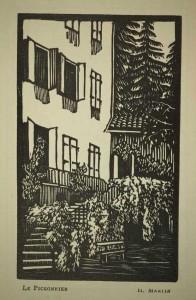 Almanach vivarois 1930. Éd. du Pigeonnier, p. 3. Cote 88645