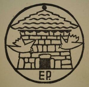 Marque de l'éditeur. Faure Gabriel. Œuvres (t. 1 à 8). Éd. du Pigeonnier, 1937. Cote 020094 à 020101