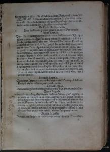 Feuillet b. Nicolas Perotti, Rudimenta grammatices, 1474 (i.e. 1484). Cote : 1R 11324