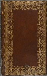 Plat décoré à la rouletteLouis Montegut. Histoire de Notre-Dame de Mont-Serrat. 1747. FANC 35758