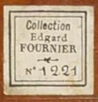 Petite étiquette de collection