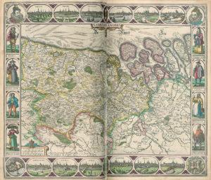 ComitatFlandria, dansTheatre dumonde. Amsterdam: Vischer,1633