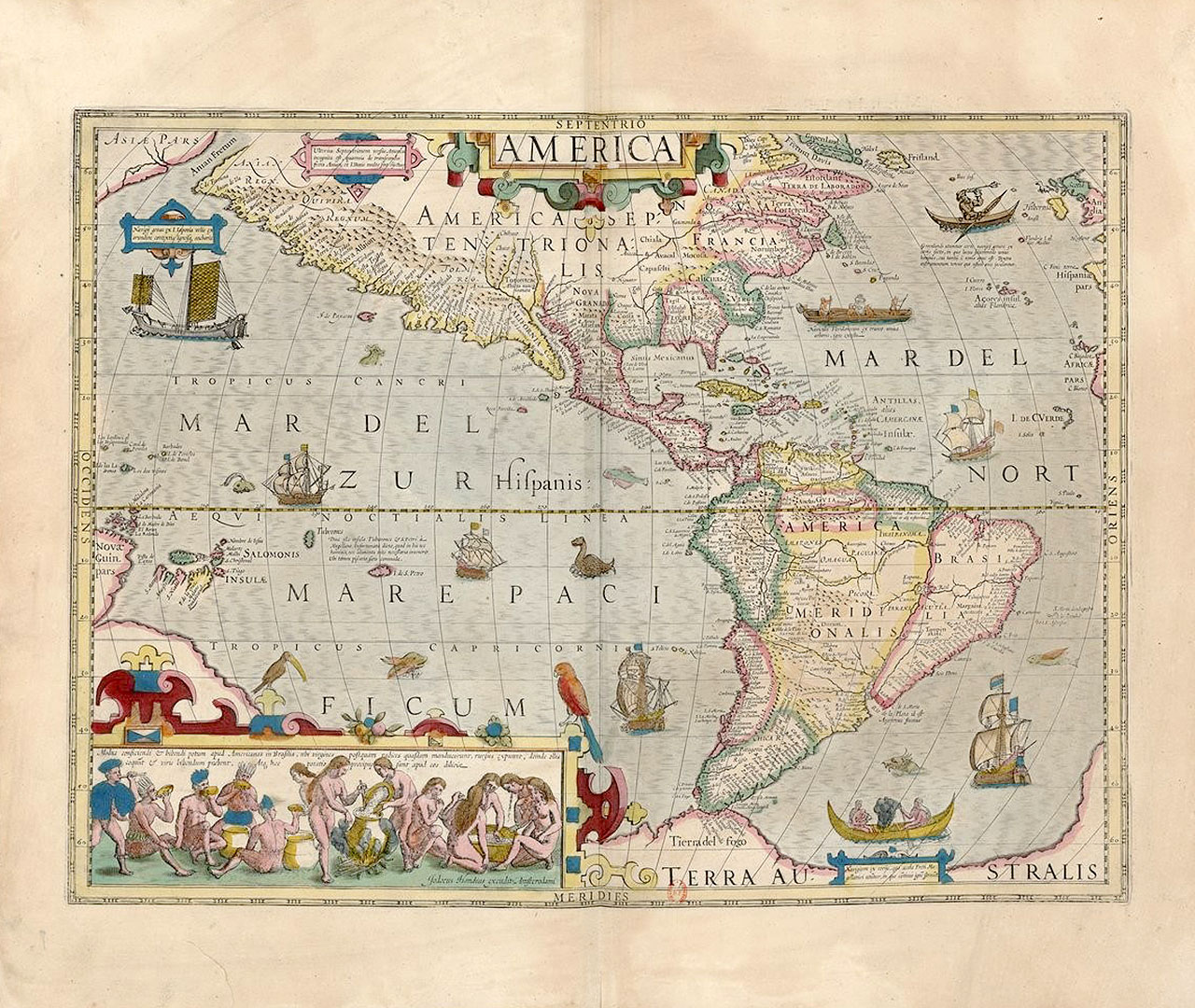 America. S.l.: M.Mercator, 1595