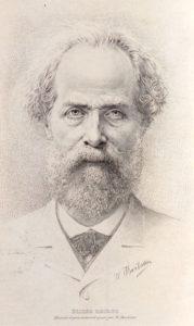 Portrait d'Élisée Reclus âgé