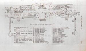 Plan du Crystal Palace de Londres