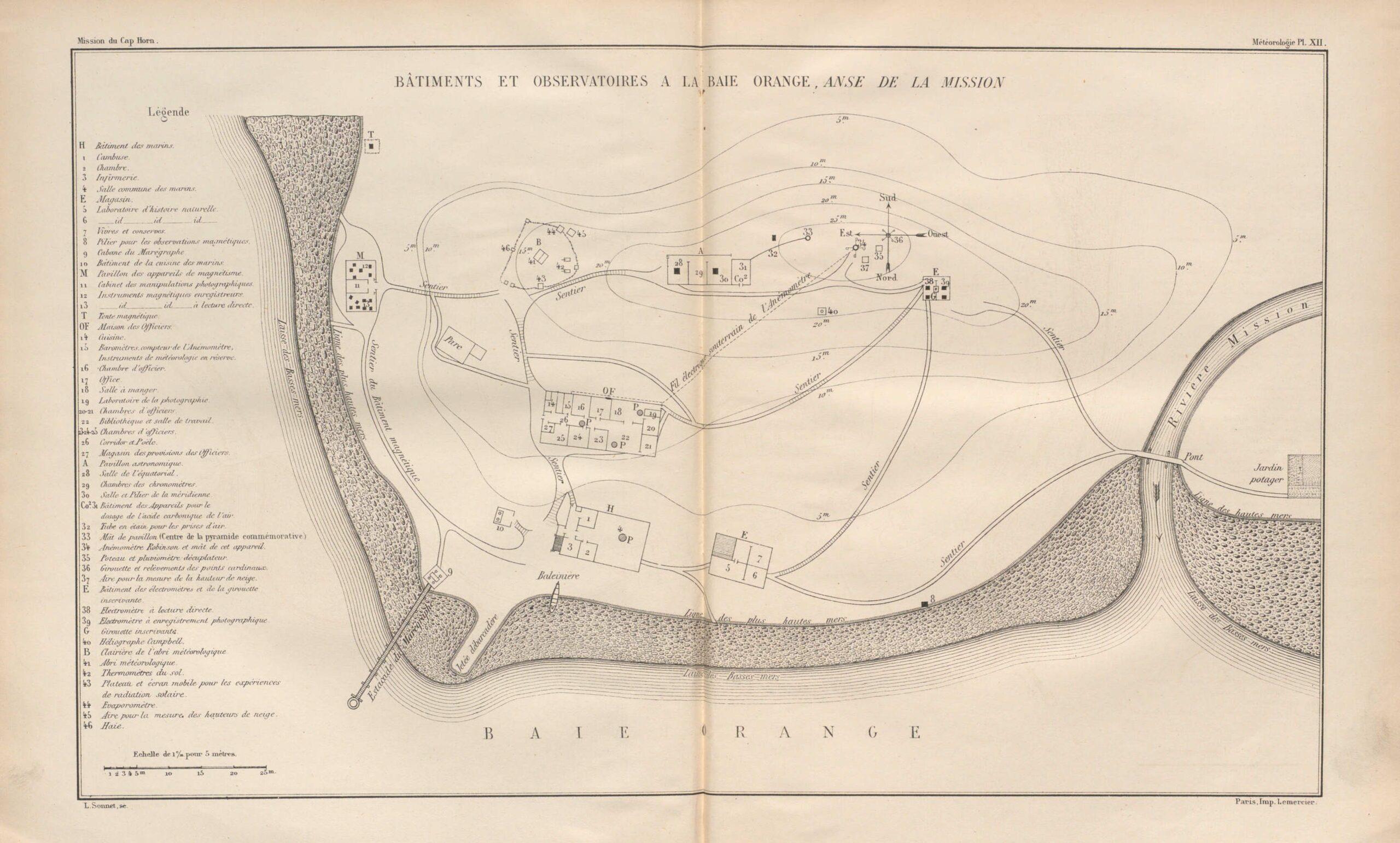 Mission scientifique du Cap Horn : 1882-1883 / Ministères de la