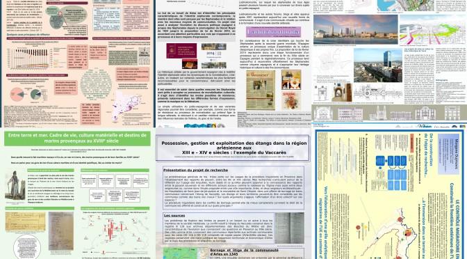 Posters des doctorants du laboratoire TELEMME