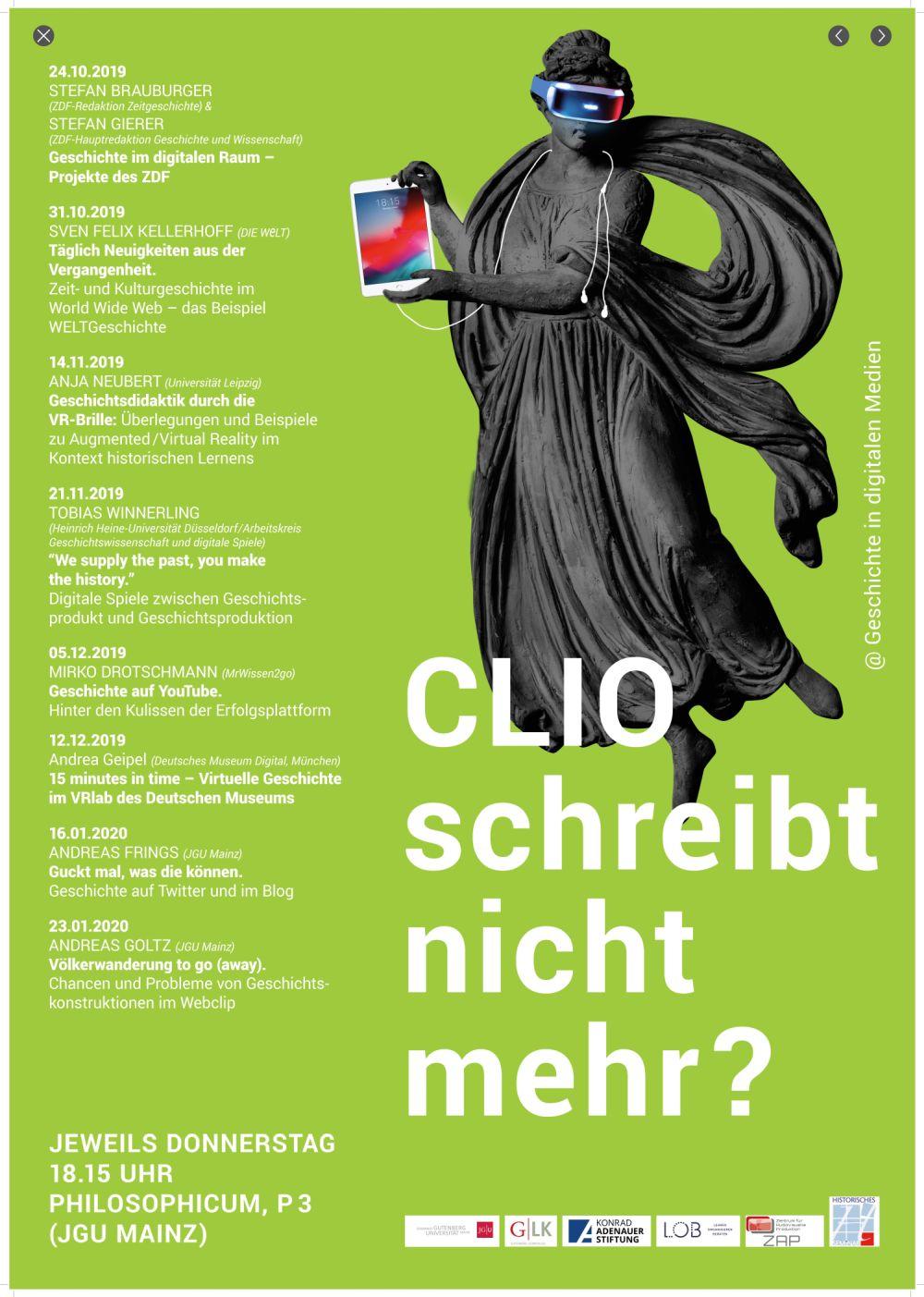 Clio schreibt nicht mehr? @Geschichte in digitalen Medien