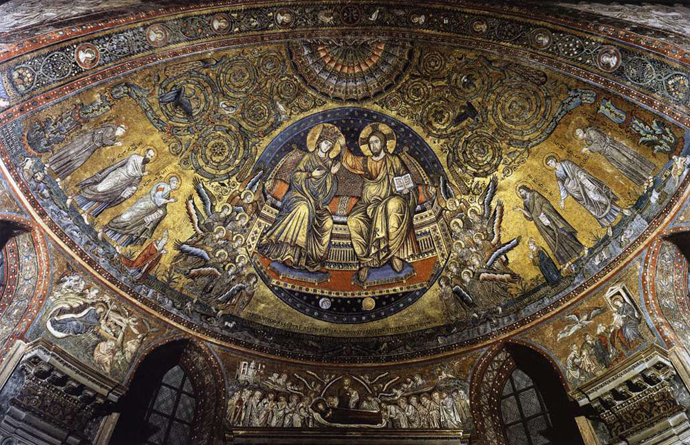 1296 Jacopo Torriti Roma SMM abside WM