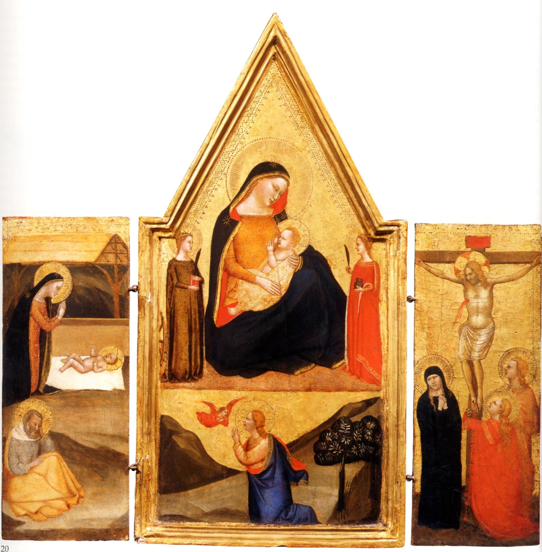 1335-40 ca MSLucchese Newark Alana coll