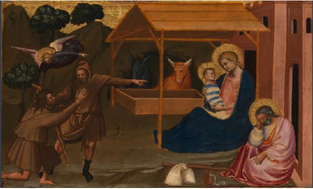 adorazione dei pastori | La Nativité italienne