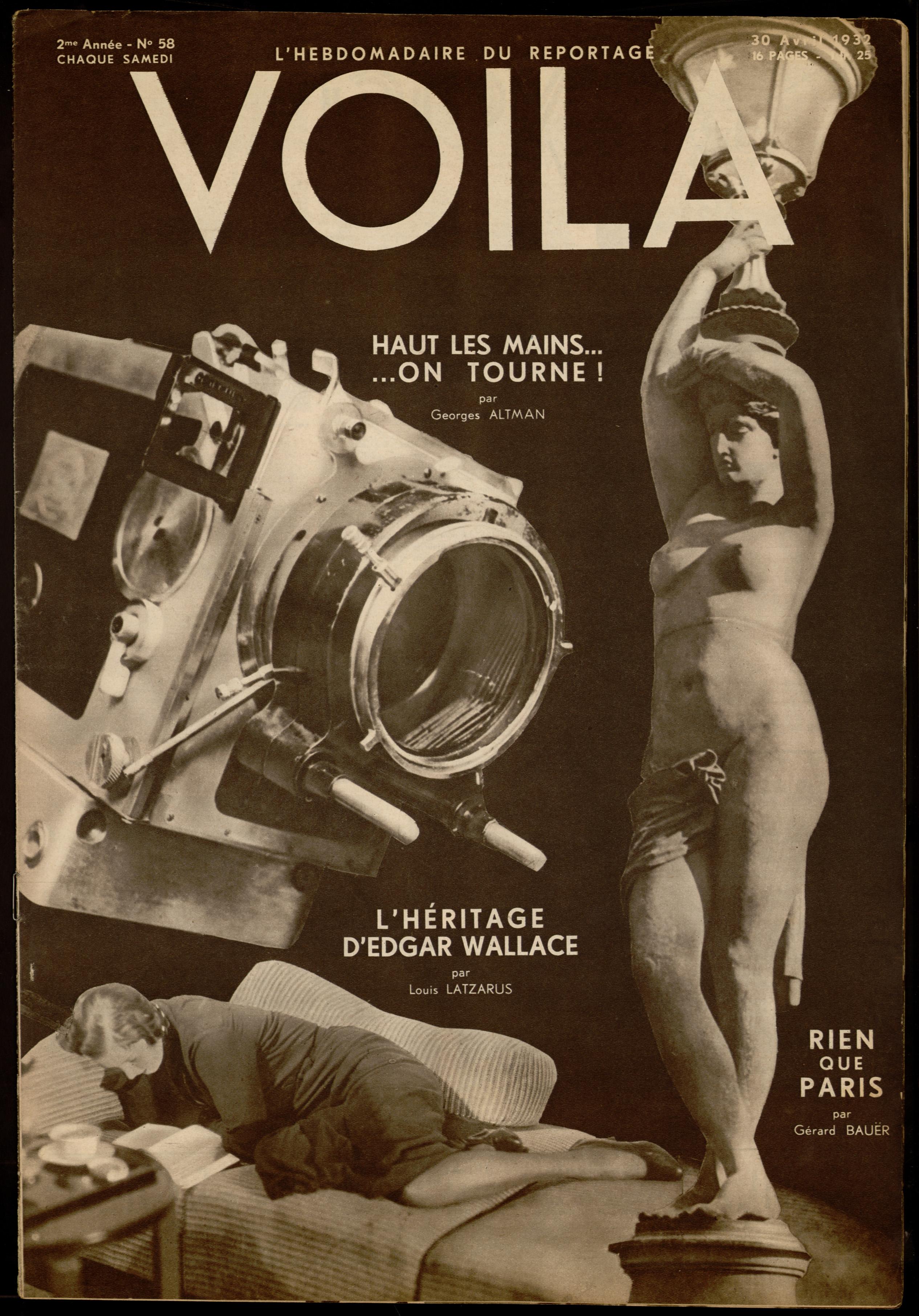 """Online-Stellung von """"VU"""", un magazine photographique, 1928-1940 ..."""