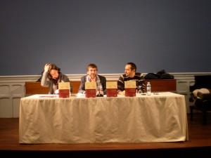 Presentación de nuestra anterior monografía en el Instituto Internacional de Madrid.
