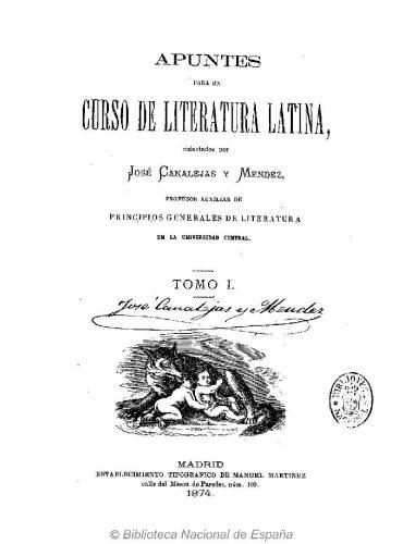 Firma de Canalejas en la portada de ejemplar conservado en la Biblioteca Nacional de España