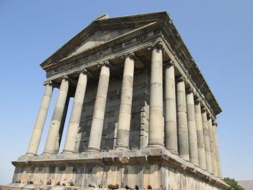 El templo helenístico de Garni (Armenia). Fotografía de Francisco García Jurado