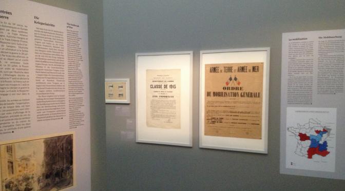 Exposition «Été 1914, Nancy et la Lorraine dans la guerre» : une visite