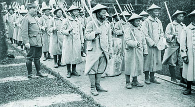 Conférence «La guerre au travail, 1914-1920  Étrangers et coloniaux à l'usine et dans les champs»