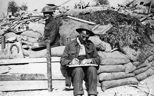 Soldats écrivant Flickr 4