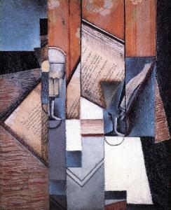 Juan Gris - The Book (1913)