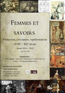 Affiche séminaire femmes et savoirs-light2