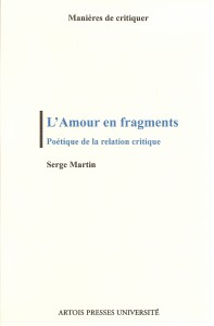 L'amour en fragments couv