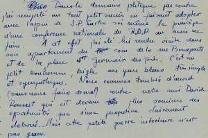 Lettre 3 mai 1949 visite à Jean-Paul Sartre RDR