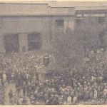 grévistes mai 1947 - photo in la Vérité