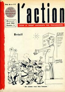Brésil coup d'Etat 1964