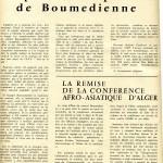 Après le coup d'Etat de Boumedienne 1965