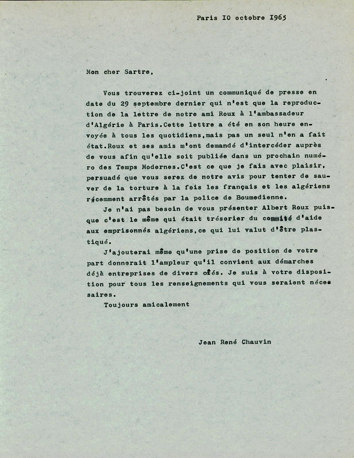 exemple de lettre ecrite a des prisonnier