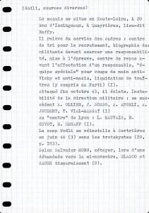 Calepin Historique du maquis wodli 3