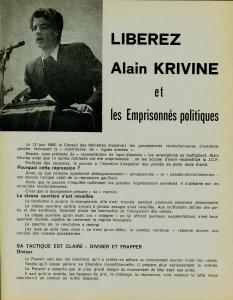 Libérez Alain Krivine