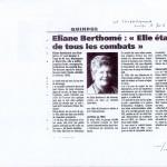 Eliane Berthomé 2002 le Télegrame