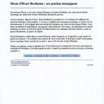 Henri Berthomé le télégramme
