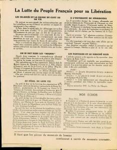 Le Peuple syndicaliste 1944 verso