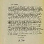Lettre JR à Marceau Pivert - POUM juin 1952