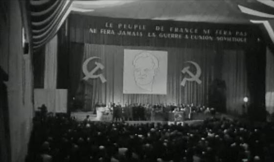 Congrès PCF 1950 Gennevilliers