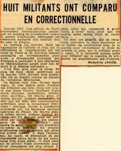 Franc-Tireur 10 avril 1948