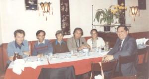Trotskistes vietnamiens  en 1981, avec JR Chauvin et Jenny Plocki