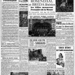 l'Huma 31 octobre 1944 - Duclos exalte le rôle national des gardes patriotiques