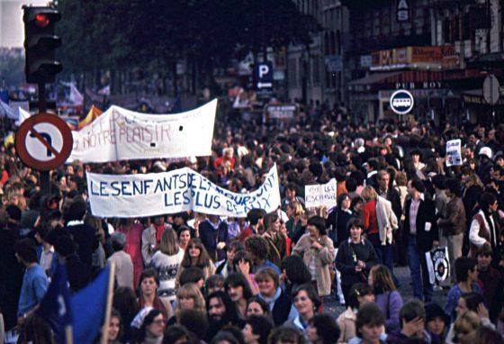 Manif femmes avortement 1979