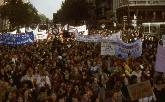 Manifestation femmes octobre 1979