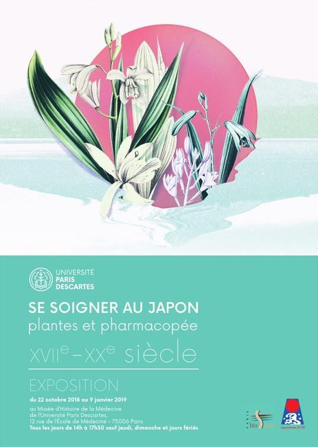 Exposition « Se soigner au Japon », Musée d'Histoire de la Médecine, Paris