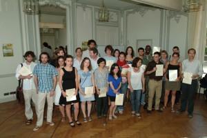 Les étudiants de la troisième promotion du MEM EuroPhilsoohpie