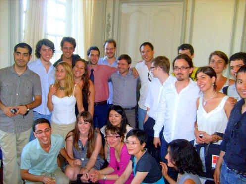 La deuxième promotion du MEM EuroPhilosophie réunie pour la cérémonie de diplomation