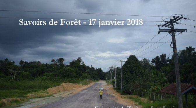Journée Savoirs de Forêts / 17.01.2018