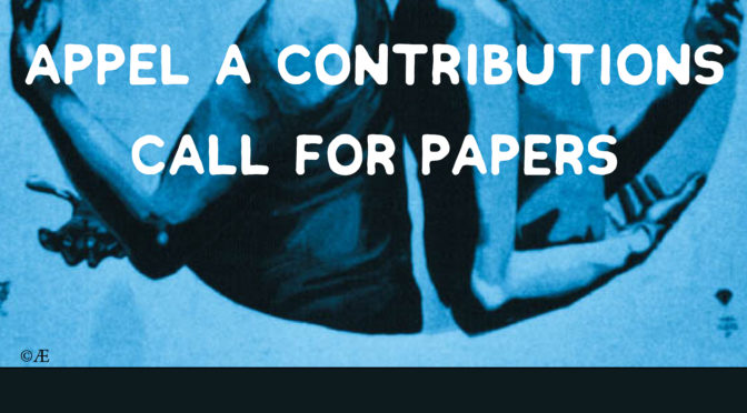 STAGE D'HIVER / WINTERSCHULE 2018 — Appel à contributions / Call for papers