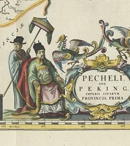 Martino Martini: Novus Atlas Sinensis (1655) - Karte von BeiZhili
