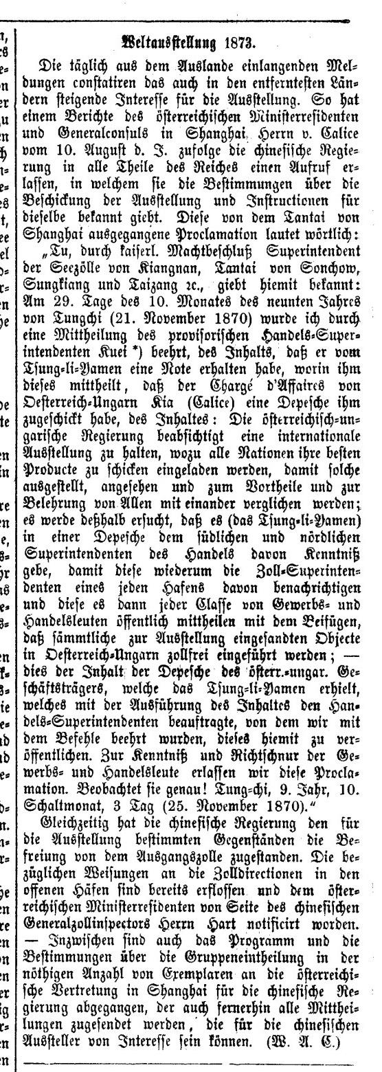 Wiener Zeitung, 3.10.1871